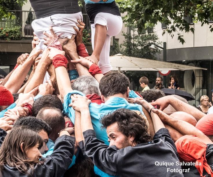 La plaça Vella s'ha omplert una vegada més de Terrassencs que volien veure les activitats que es realitzen duarnt el ball de plaça