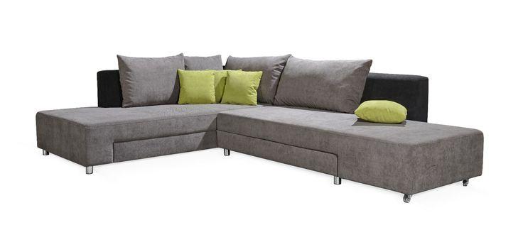 Einmalige Funktionsweise: einfach die lange couchseite nach vorne drehen und schon hat man eine große und gemütliche Liegefläche! Das ist unsere wirklich große und wirkliche außergewöhnliche Couch Lyon! Sofort verfügbar, schauen Sie bei uns vorbei. www.feelcomfort.de #feelcomfort #style #besonders #musthave #schlaffunktion #bettfunktion #bett #couch #wohnlandschaft #sofa #wow #stuttgart #0711 #einrichtung #traumhaus #hausbau #interior #haus