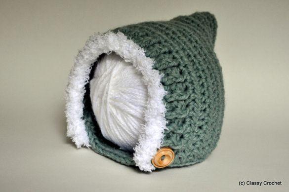 Free Pattern: Crochet Elf Pixie Hat(v.2)
