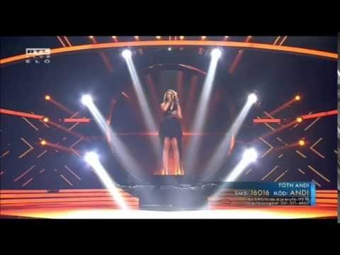 X-Faktor Finálé | Tóth Andi - Legyek Én (A Győztes Dala) 2014.12.21.