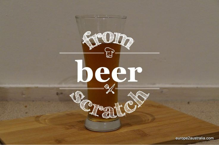 Recipe: Beer (almost) fromscratch
