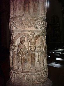 Rzeźba romańska – Wikipedia, wolna encyklopedia