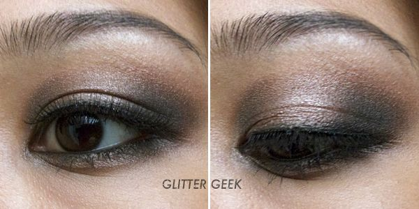 Glitter Geek: Smokey Eyes wearing Urban Decay Smoked Palette