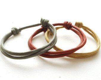 NUDO Simple pulsera  su  amor pulsera  joyas de parejas