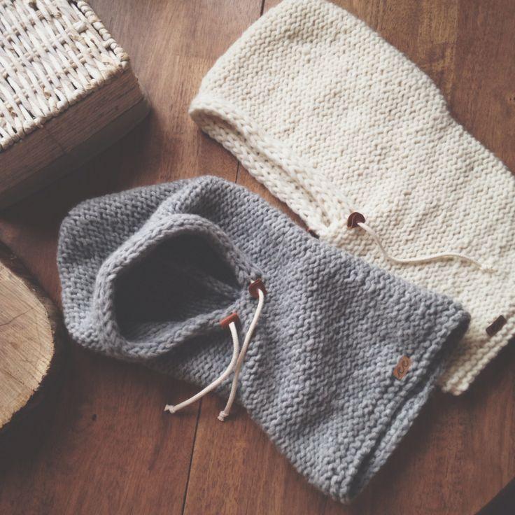 Handmade knitted