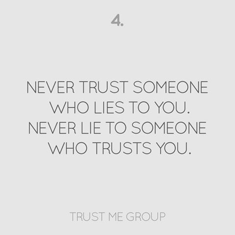 how to know you can trust someone again