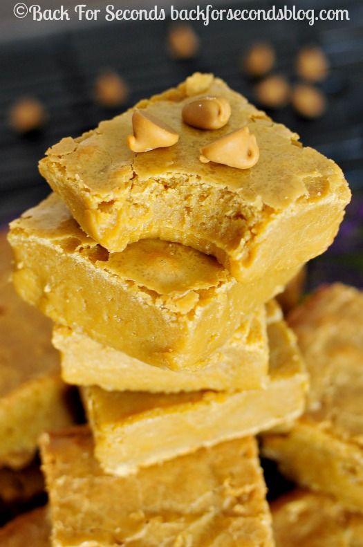 Fudgy butterscotch brownies recipe