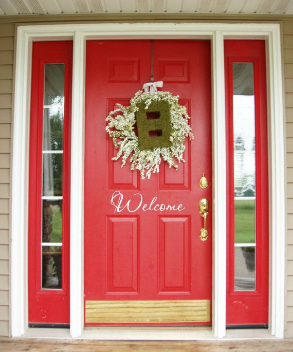 How To Paint A Front Door 99 best doors of red images on pinterest | red front doors, red