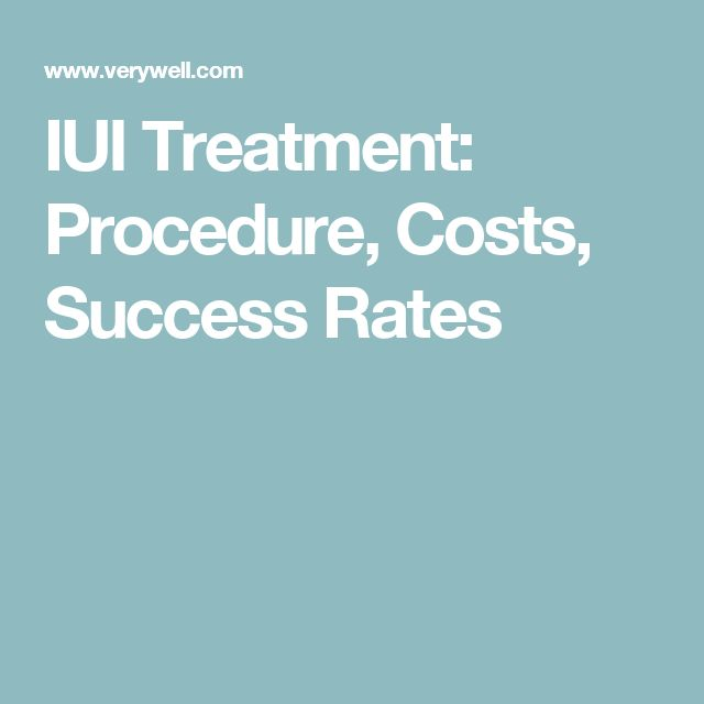 Success rates of iui with clomid
