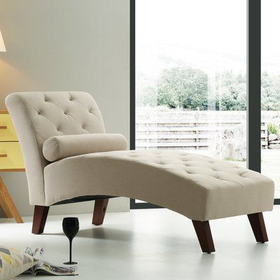 Tiff Traditional Chaise Lounge Finish: Tan - http://delanico.com/chaise-lounges/tiff-traditional-chaise-lounge-finish-tan-725524203/