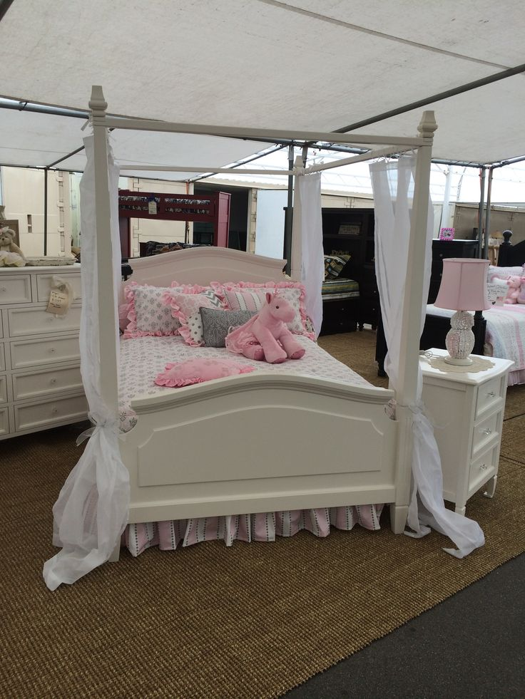 11 best megan canopy bedroom collection images on pinterest 4 poster bedroom baby girl. Black Bedroom Furniture Sets. Home Design Ideas