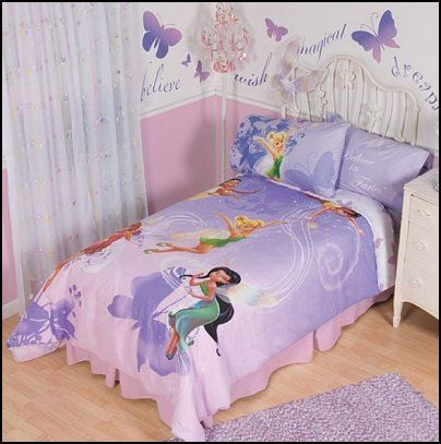 fairy bedroom decoration | Decorating theme bedrooms - Maries Manor: fairy tinkerbell bedroom ...