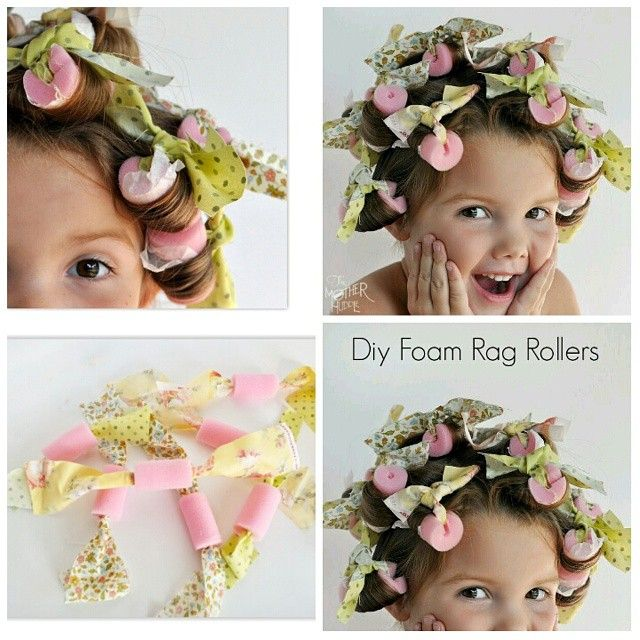 sponge rollers ** ** #comfy enough to #sleep in & they make #beautiful…