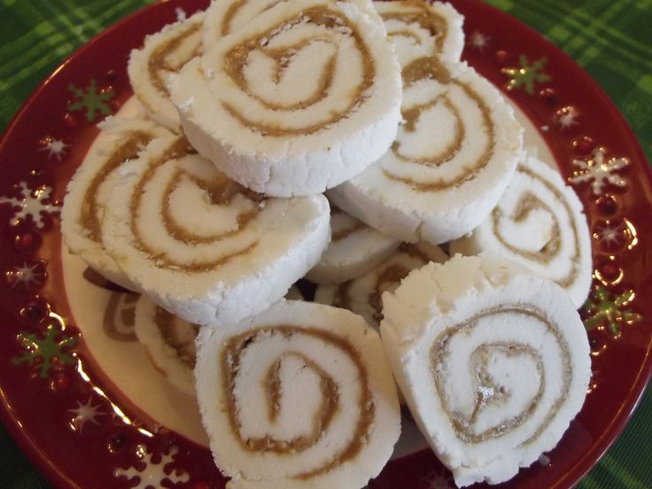 Great Peanut Butter Pinwheels Candy   The Hillbilly Kitchen
