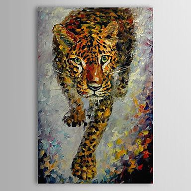 Hand Painted Oil Painting Animal Tiger 1304-AN0067 – AUD $ 114.39