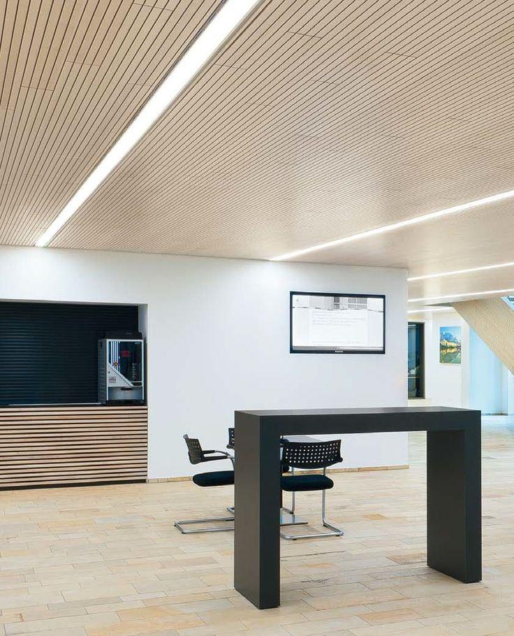 LED light fixture / linear / recessed ceiling / modular lighting system SLOTLIGHT II ZUMTOBEL
