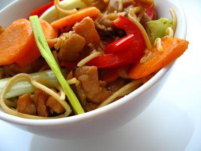 Andreea's Chinesefood blog: Taitei de ou cu carne si legume