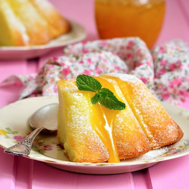 Moelleux au citron à la semoule fine