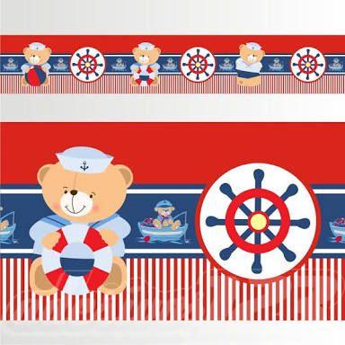 Resultado de imagem para ursinho marinheiro