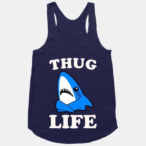 Thug Life Left Shark #leftshark