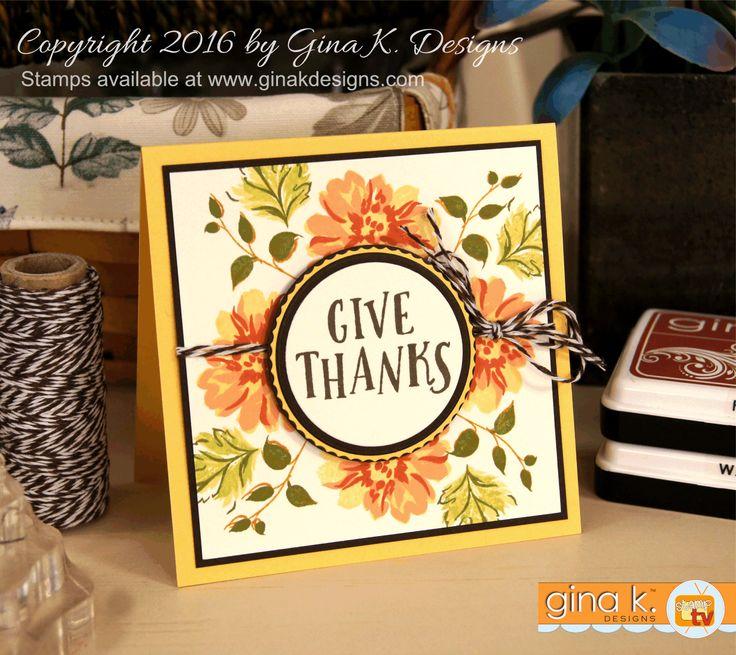 Card Making Ideas Gina K Part - 18: Pinterest