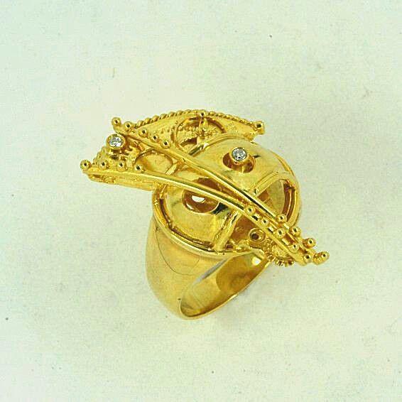 IOSIF JEWELRY RING GOLD DIAMOND