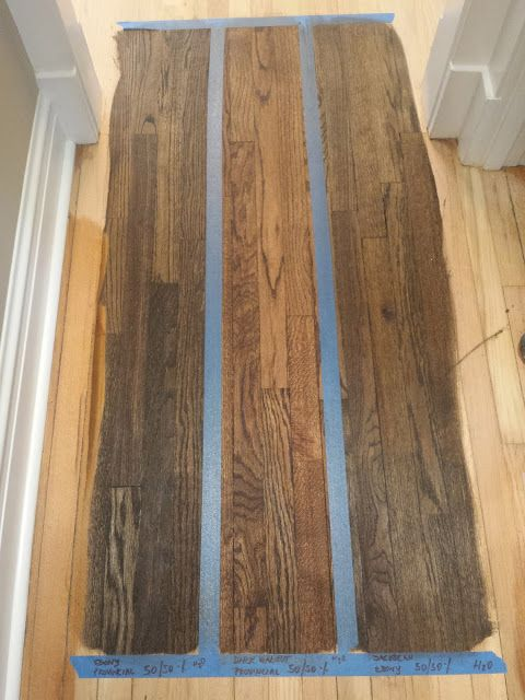 Staining Floors Jacobean  Ebony Mix  Wood Floor Stain -8311