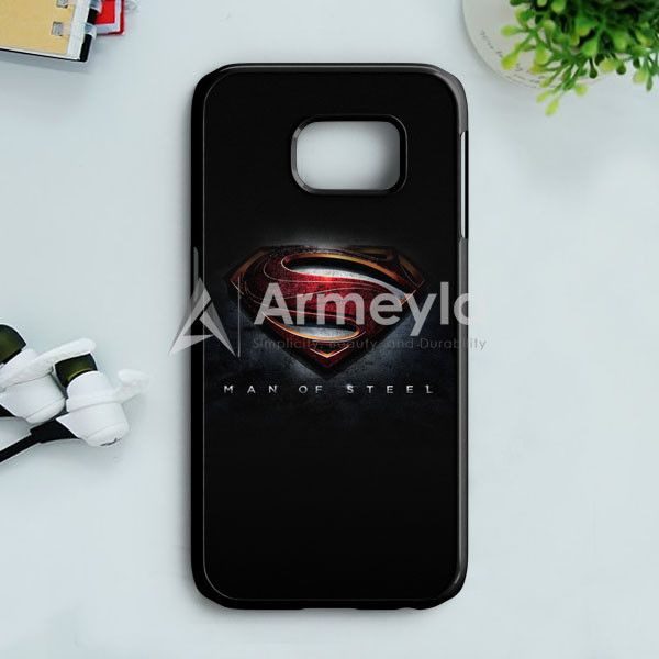 Man Of Steel Superman 2013 Samsung Galaxy S7 Edge Case | armeyla.com