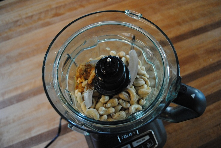 making cashew butter with nutribullet