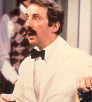 Fawlty Towers. Manuel (Andrew Sachs). Image credit: British Broadcasting Corporation.