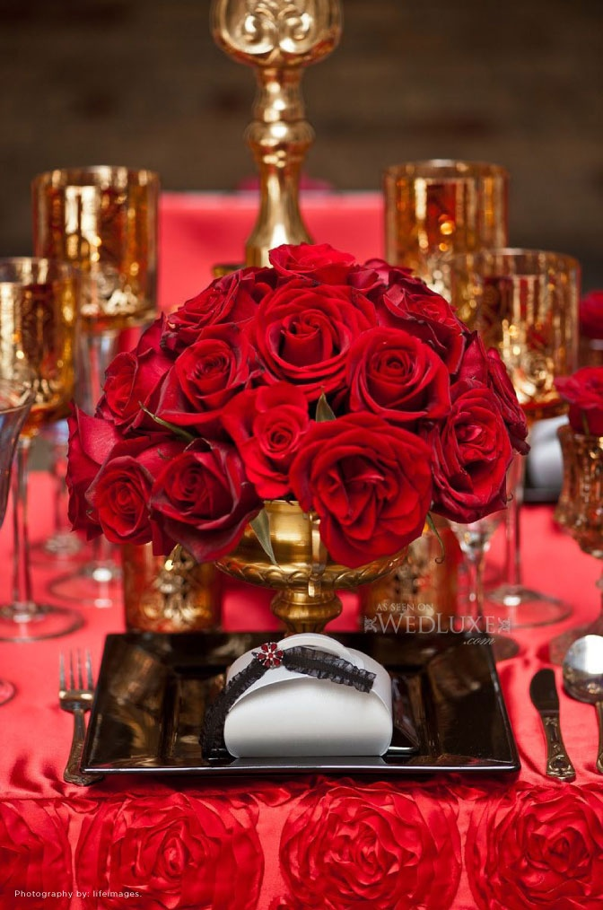 25+ Best Ideas About Red Table Settings On Pinterest