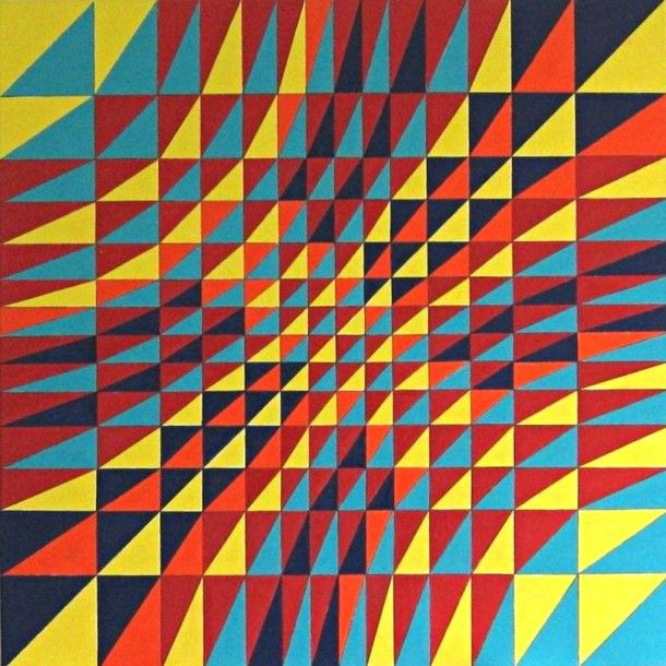 gekleurde ritme