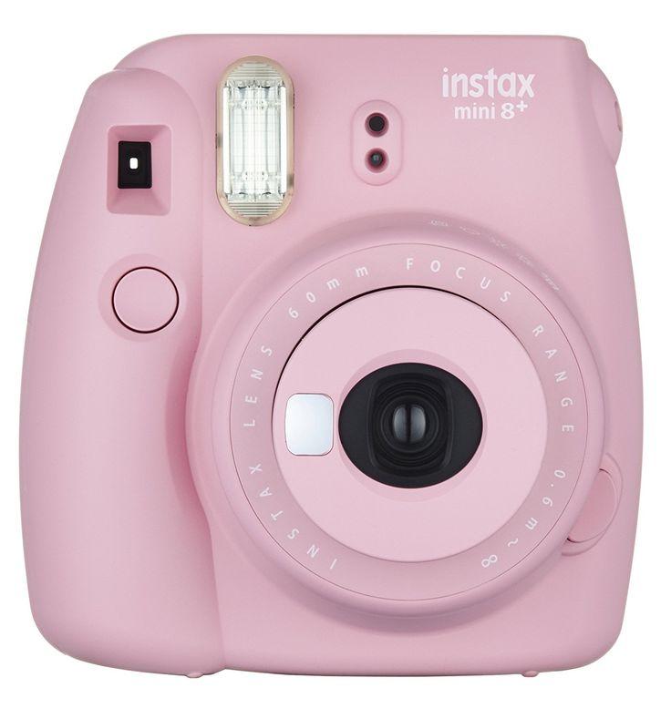 Amazon.com : Fujifilm Instax Mini 8+ (Strawberry) Instant Film Camera + Self Shot Mirror for Selfie Use - International Version (No Warranty) : Camera & Photo