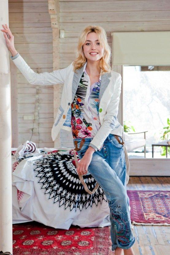 Desigual Jackets to live la vida es chula style moda