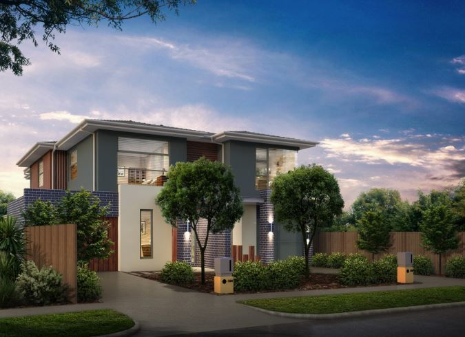 Artists Impression for a Dual Occupancy build, Bayside Suburbs Melbourne