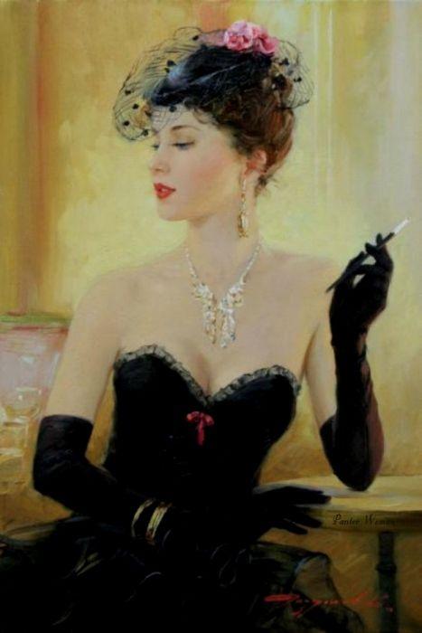 Ladies by Konstantin Razumovski