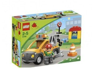 Lego Duplo Tow Truck (6146) by LEGO. $49.95. Repair the vehicles with the mechanic and his Tow Truck!  Hit the road with the LEGO DUPLO Tow Truck with a functional crane and a mechanic to make repairs with the DUPLO accessories!. 18 pieces. Whenever there is a city in the DUPLO car breakdown, the helpful mechanic is on call. Can he fix the car immediately, he brings it with his super strong tow to his shop. The mechanic is reliable! With DUPLO tow and mechanic ...