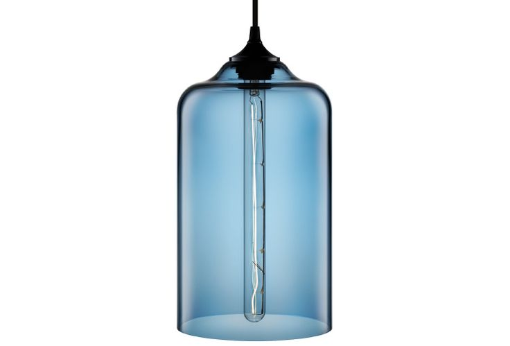 Nice Modern's Bella hanging pendant in Sapphire.