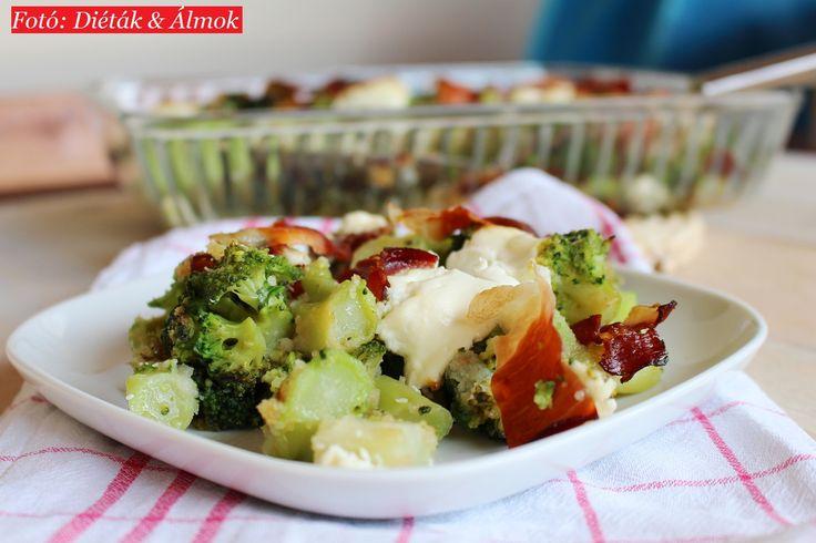 diéták&álmok: Sonkás brokkoli