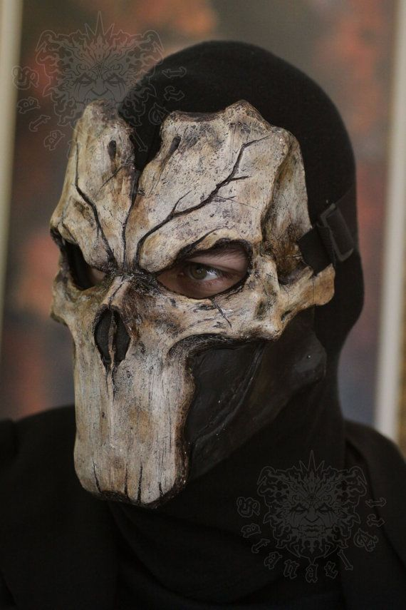 Death /bone/ by SatanaelArt Darksiders II  Handmade & paint fiberglass mask. With first layer of gelcoat and 3 layers of fiberglass.