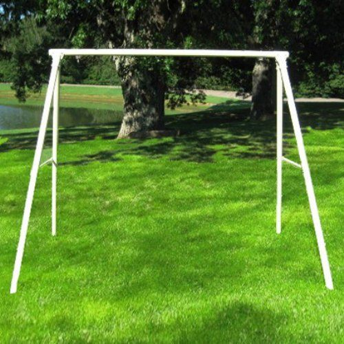Flexible Flyer Metal Lawn Swing Frame Patio Furniture