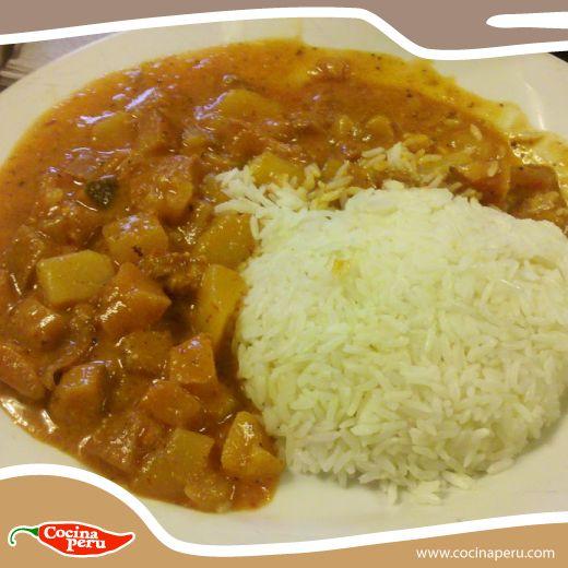 ¿Quién no tiene antojo de Patita con Maní para el almuerzo? No te quedes con las ganas Cocifan, y prepáralo con esta receta facilísima...http://bit.ly/1ahzMx6