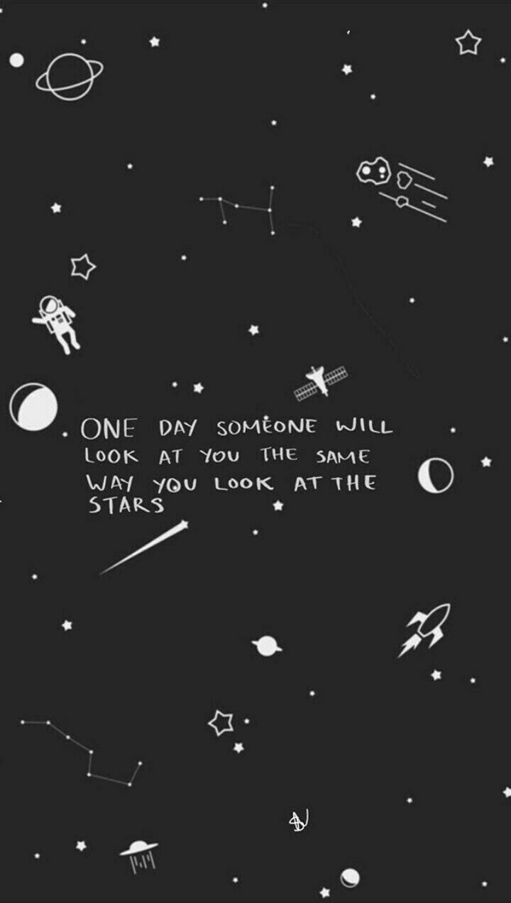 Idea By Ash Esparza On Quotes Iphone Wallpaper Stars Wallpaper