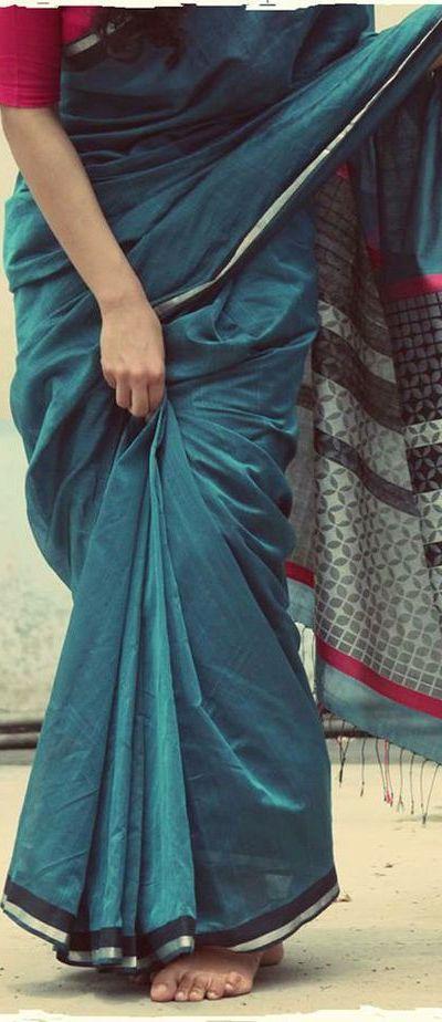 Ethicus Atangudi sari - sustainable cotton - ethical fashion - original pin by @webjournal