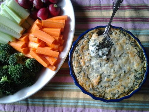 Warm Spinach-White Bean Dip Recipe | Recipes | Pinterest