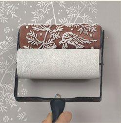 25 best ideas about rouleaux peinture motifs on. Black Bedroom Furniture Sets. Home Design Ideas
