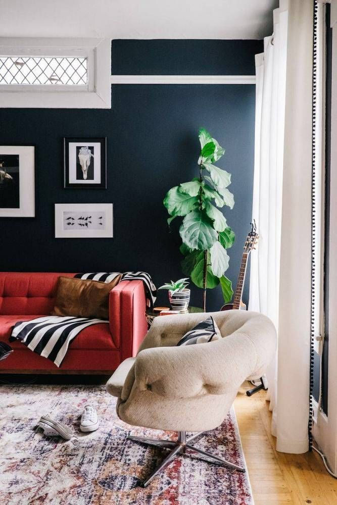 Decor Mistakes And Their Solutions Navy Red Living Room