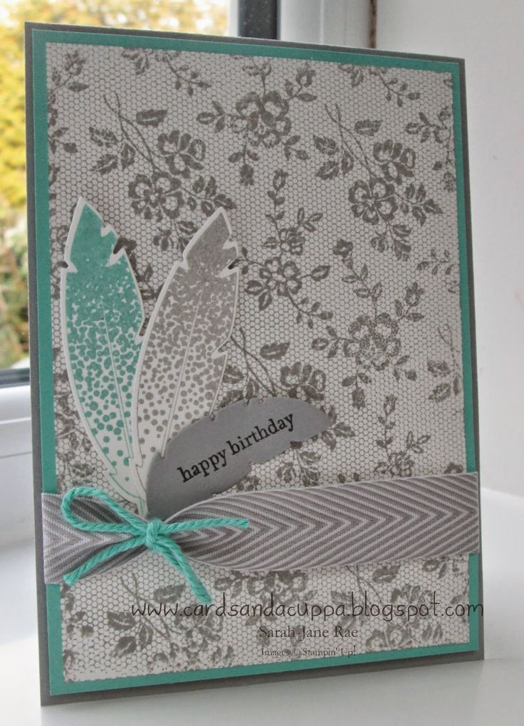 Stampin' Up UK Demonstrator Sarah-Jane Rae Cards and a Cuppa blog ...