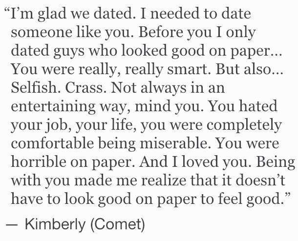 ... #comet #quote