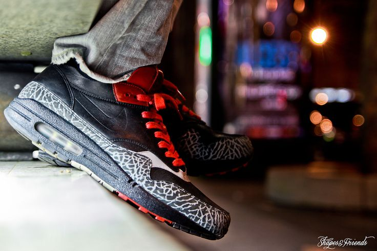Nike Air Max 1 NL Premium Black Cement | Nike air max, Air max 1, Nike
